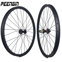 Light bicycle roda mtb 29 carbon rear wheels front mountain bikes wheelsets 29er XC 35X25mm Clincher Tubeless hot sell to Spain