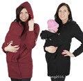 Новый одежда для беременных материнства толстовка слингоношения толстовка с капюшоном куртки для беременных женщин