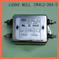 CW4L2 20A S110 250V 20A,EMI power filter Duplex Bolt connection power supply filter Electrical Equipment Supplies Power Adapters