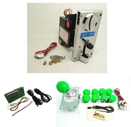 все цены на 1 kit for coin operated single player PC joystick controller, USB to Jamma arcade game, Arcade control panel keyboard encoder онлайн