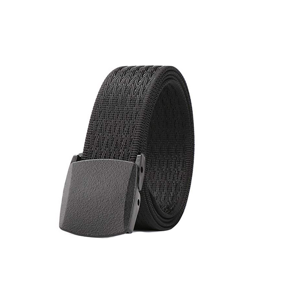 New Outdoor Tactical Waist Plastic Buckle Belt For Men Female Men Women Universal Army Style Automatic Buckle Nylon Belt