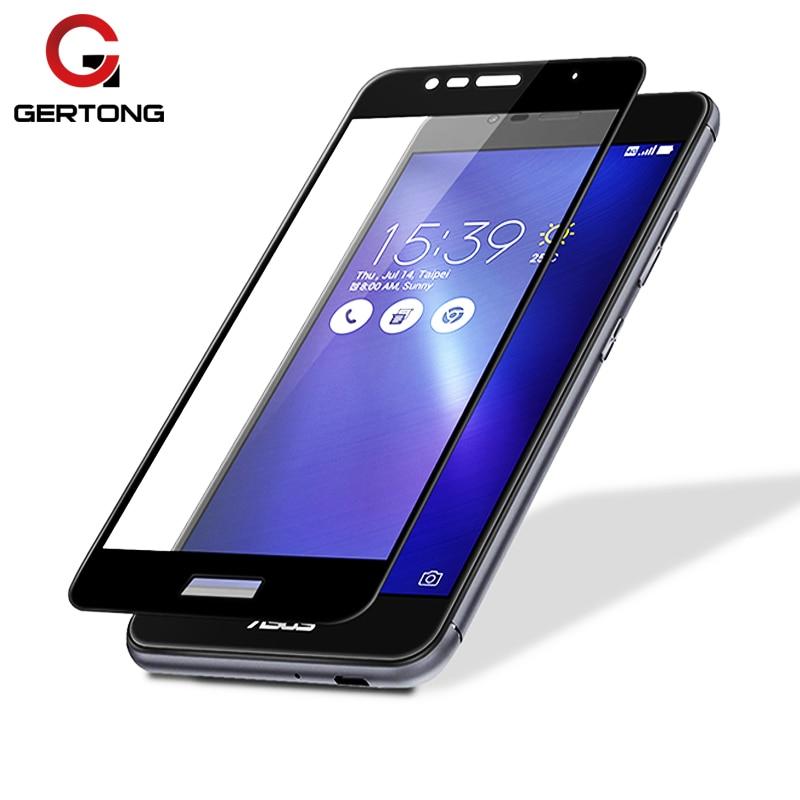 GerTong Full Cover Tempered Glass For ASUS Zenfone 4 Max ZC520KL ZC554KL 4 ZE554KL Live  ...