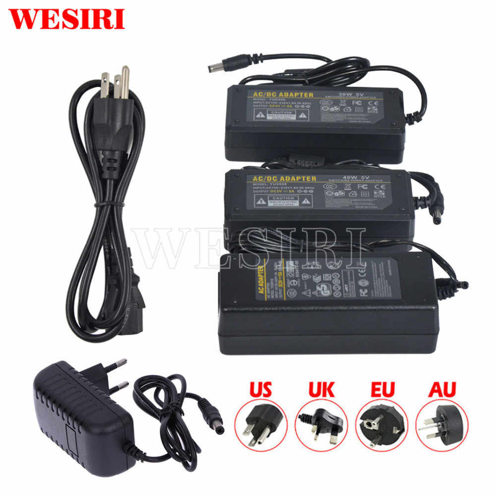 LED Switch Power Supply Adapter AC to DC Transformer DC5V 12V 24V 48V 1A 2A 3A 5A 6A 7A 8A 10A for 5V 12V 24V LED Strip Lights