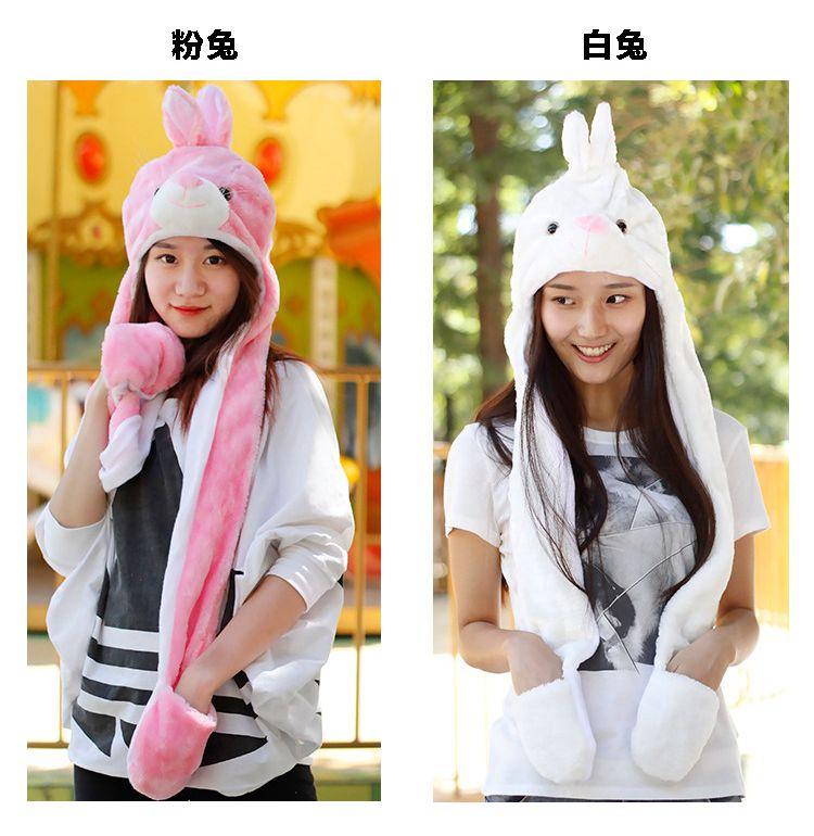Cartoon Totoro Cute Winter Plush Animal Hat Bear Cap Fashion Children Adult Earmuff Pig Scarf Gloves For Christmas