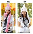 Cartoon Totoro Cute Winter Plush Animal Hat Bear Cap Fashion Children Adult Earmuff Pig Scarf Gloves for Christmas