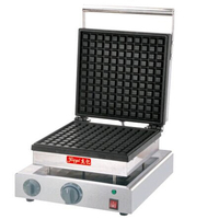 Free Shipping By DHL 1 PC 220V More Electric Single Head Square Nestle Furnace Muffin Machine