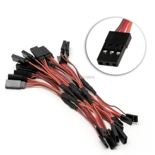 10pcs 150mm Servo RC Y Style Male to Female Extension Lead Cable JR Wire Cord New -B116