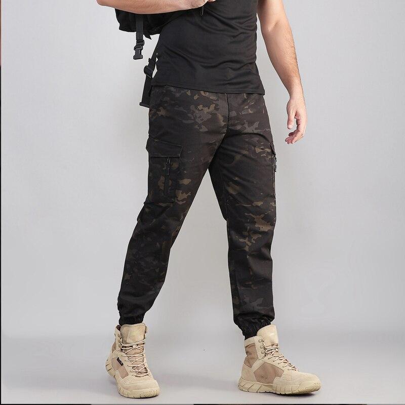 2019 Trasporto Libero Nuovo Tattico Multicam Nero Pantaloni Della Matita Militare Jogge Pantaloni Mcbk Tactical 65/35 P/c Ripstop Pantaloni Della Matita Elegante Nell'Odore