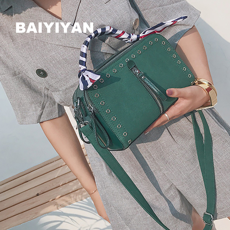 New Fashion Spring Summer Small Simple Solid Messenger Bags High Quality PU leather Famous Brand Women Crossbody Shoulder Bag