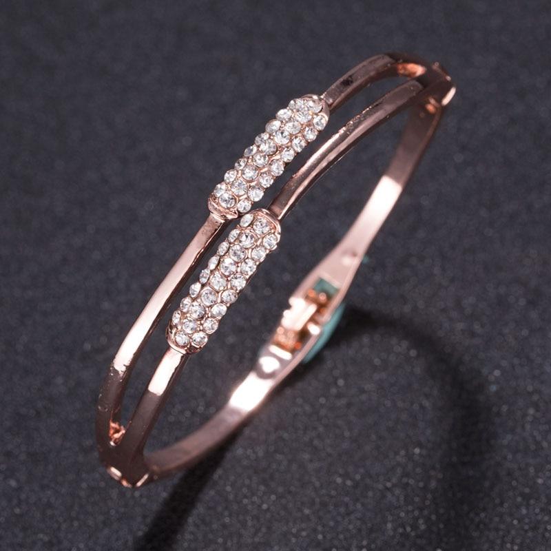 Fashion Trendy Open Leaf Cuff Bracelet Bangles for Women Simple Plant Bracelet Femme Jewelry Birthday Gift W285