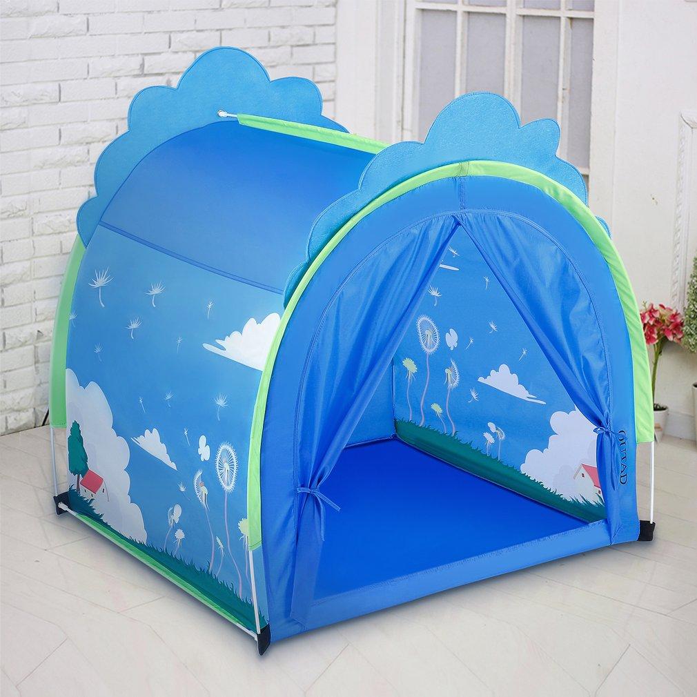 OUTAD enfants jouent tente jouet Portable léger pour l'amusement intérieur et extérieur jouer idéal pour la maison cour parcs fêtes