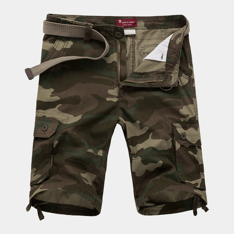 30 42 New 2017 Men Shorts Military Shorts Cargo Camo Shorts Casual Fashion Baggy Tactical Army