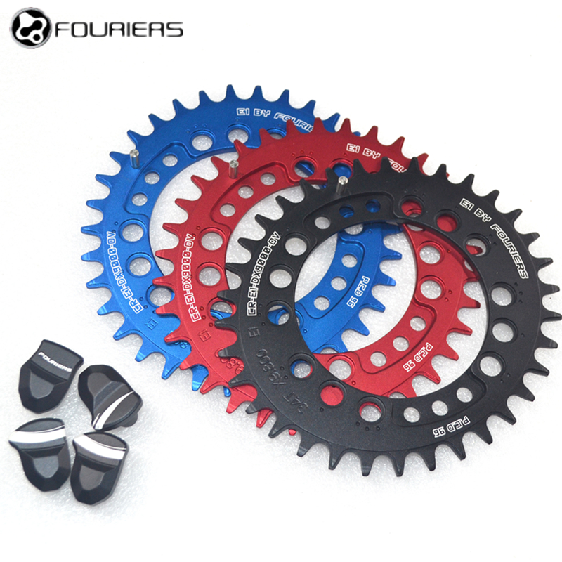Fouriers 11speed 96BCD Bicycle chainrings For M9000/M9020 Mountain Bike chain Wheel Chain Wheel Single Speed Oval Tooth disc