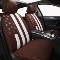 New Cartoon Universal car seat covers for Audi a3 a4 b6 b8 a6 a5 q7 beige coffee soft car seat covers brand bmw auto styling