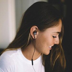 Image 5 - מקורי E1001 1 יותר משולש נהג ב אוזן אוזניות עם mi crophone לשיאו mi Mi אדום mi סמסונג mp3 אוזניות אוזניות אפרכסת