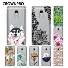 CROWNPRO CN Version 64GB Soft Silicone Xiaomi Redmi Note 4 Case Cover Phone Case FOR Xiaomi Redmi Note 4 Protective Back TPU