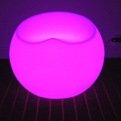 Waterproof Colors Change indoor LED Light Stool to bar for party VC-S5647 pe plastic led ceiling ball light indoor 16 colors waterproof for indoor outdoor