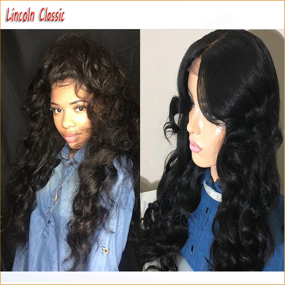 2016 New Best 7a Full Lace Body Wave Wig Human font b Hair b font Full