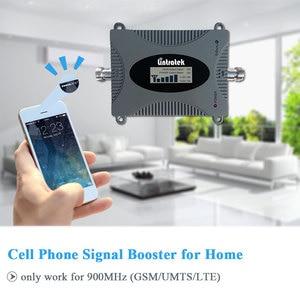 Image 2 - Lintratek gsm 900 mhz celular amplificador repetidor de reforço de sinal display lcd mini tamanho telefone celular gsm impulsionador conjunto yagi antena @