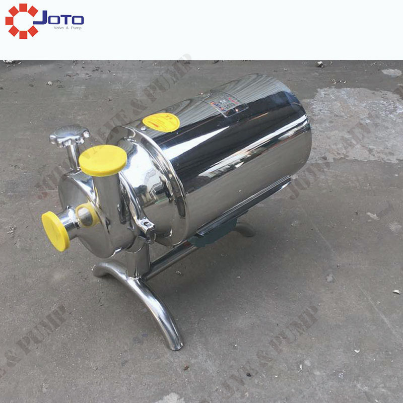 free shipping 16L/min Stainless Steel Sanitary Milk Centrifugal Pump Price