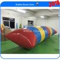 Free shipping & 0.9mm PVC Tarpaulin 10m*3m inflatable water blob /blob jump (Free pump+ repair kits)