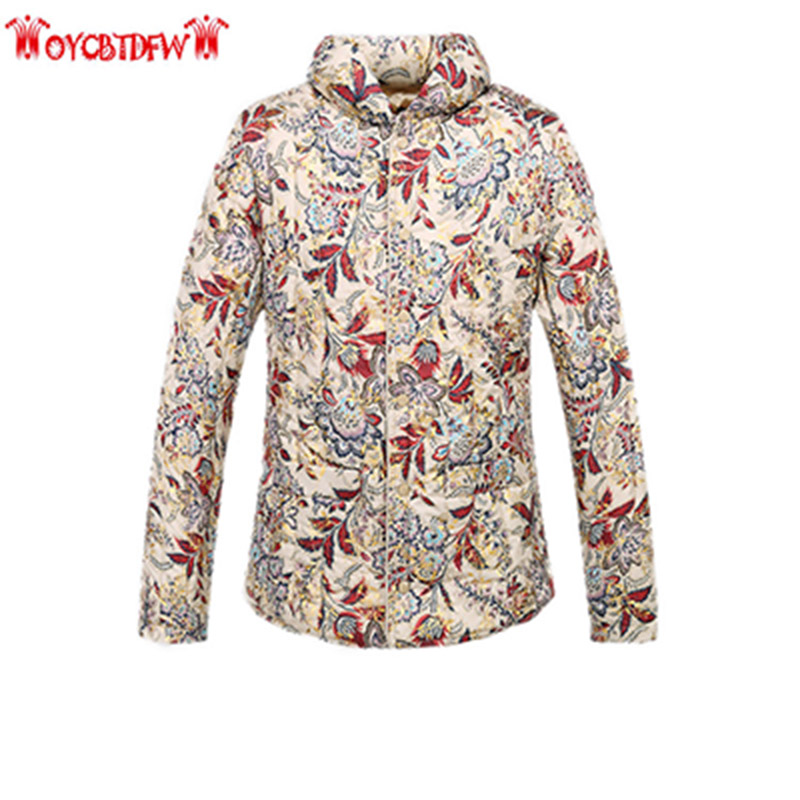 Winter Women Cotton Coat 2017 Fashion New Large Size Single-breasted Long Sleeves Printing Thickening Warm Women Parkas Ll207 free shipping boruoss 2015 new fashion winter cotton coat women short single breasted coat boruoss w1292