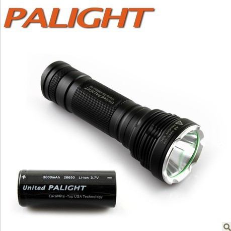 PALIGHT the light 26650 strong flashlight charging quality goods carried itwith him drive X8 - T6