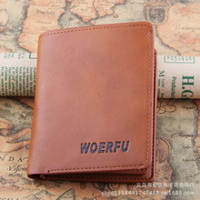 2015 new arrive Men Wallets Genuine leather short casual Purse famous brand Men Wallet Card holder Coin Purse Best gift woerfu