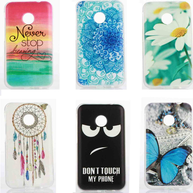 new style 04d24 a86c8 US $2.3 |Soft Silicone phone Protective Case for Vodafone Smart First 7  VF200 3.5 inch TPU Gel Back cover Etui Dont Touch My Phone Daisy-in ...