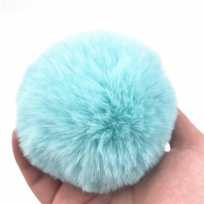 Cauda de Coelho Plugue Anal de Aço Inoxidável Luz Azul Sexy Bumbum Butt Plugs Stopper Bunny Pompom Unisex Anal Beads Sex Toy H8-66E
