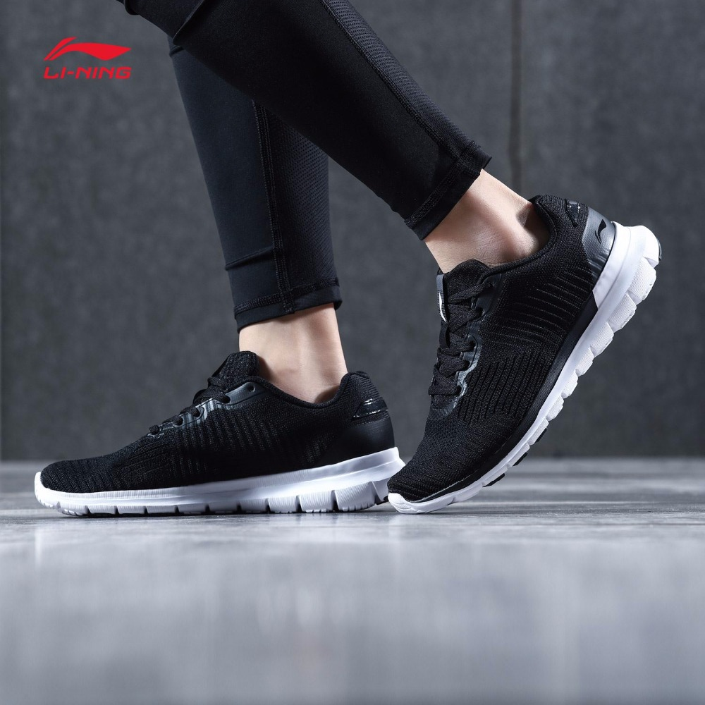 Li Ning Women SMART MOVE Running Shoes Light TPU Support Sneakers LiNing Comfort Fitness Sports Shoes