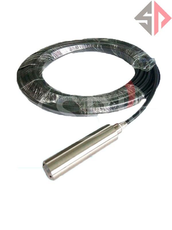 4~20mA 304 stainless steel level sensor 5M liquid level control instrument/ Investment-type level sensor 4 20ma level transmitter level controller input type level sensor for high temperature corrosive liquid sewage 8m