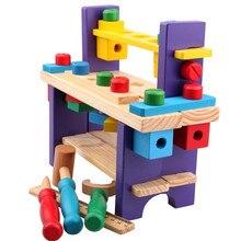 Montessori Wooden Tools Set