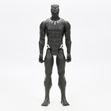 30cm Black Panther PVC Action Figure Titan Hero Series Marvel Toys the Avengers Figures Super Hero Collection Model Dolls Toy