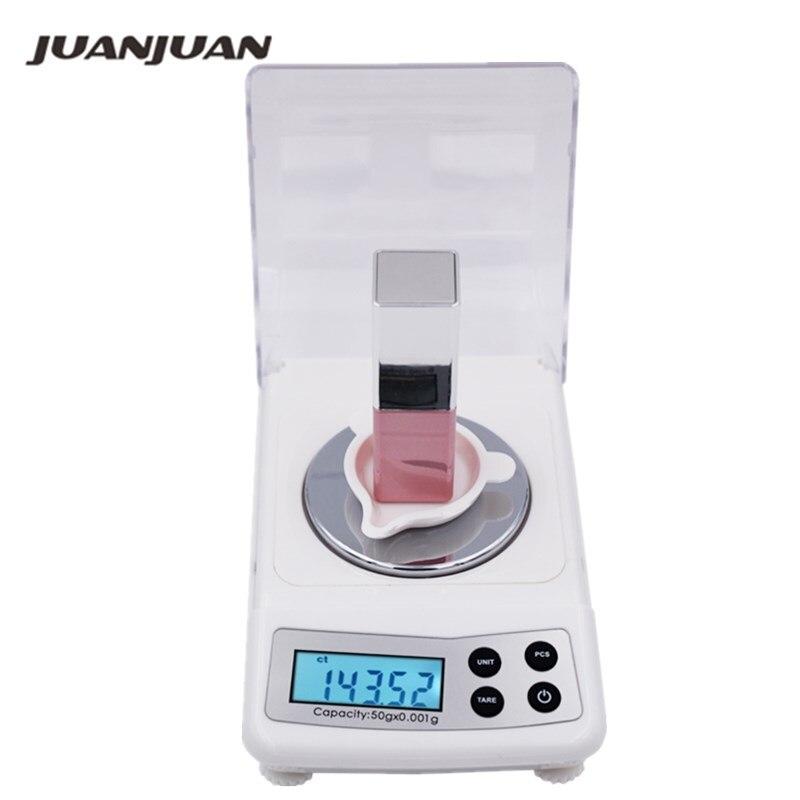 Balança de Jóias 10% de Desconto Lote x 0.001g Digital Eletrônico Bolso Grama Display Lcd 5 Pçs – 50g