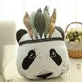 Travesseiro do bebê Fahion Bebê Brinquedos de Pelúcia Travesseiro Almofada Cama do Quarto Do Bebê Sofá Decorativo Bonito Indiano Almofada Panda das Crianças Melhor presente