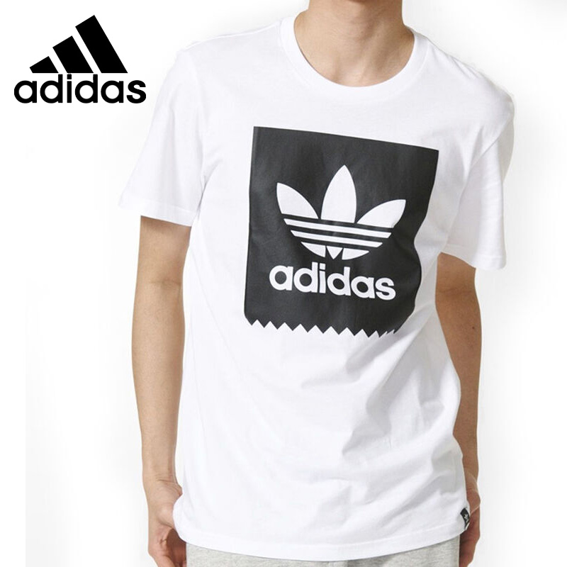Original New Arrival 2017 Adidas Originals BLKBBRD LOGO FIT Men's T-shirts short sleeve Sportswear original new arrival 2017 adidas originals trefoil tee women s t shirts short sleeve sportswear