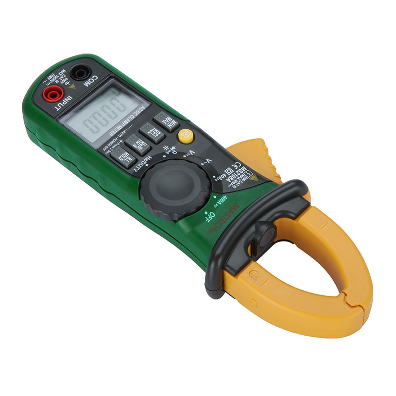 MS2108A Digital Clamp Multimeter Frequency Max Min Value Measurement Holding Lighting Bulb Carrying Bag