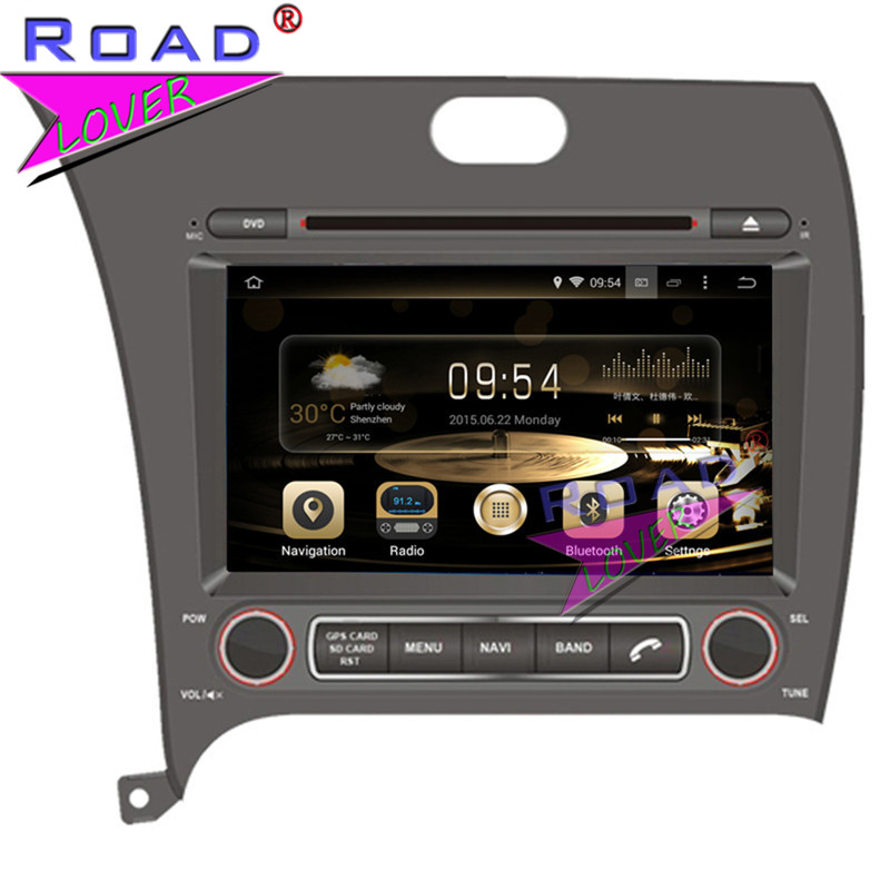 TOPNAVI Octa Core 4G+32GB Android 6.0 Car Media Center DVD Player Audio For KIA Cerato/K ...