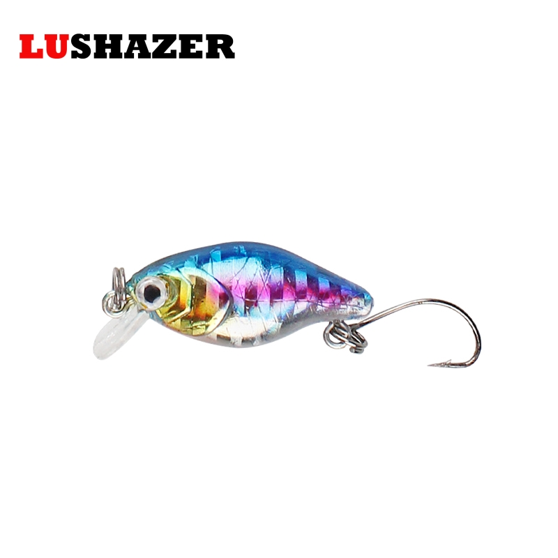 LUSHAZER Fishing minnow crankbait 2g 3cm isca artificial hard lure fishing wobblers cheap single hook peche carp fishing tackles hengjia 1pc 11 5cm 11 2g pencil fishing lure hard isca artificial minnow crank bait fake bait fishing hook carp fishing wobblers