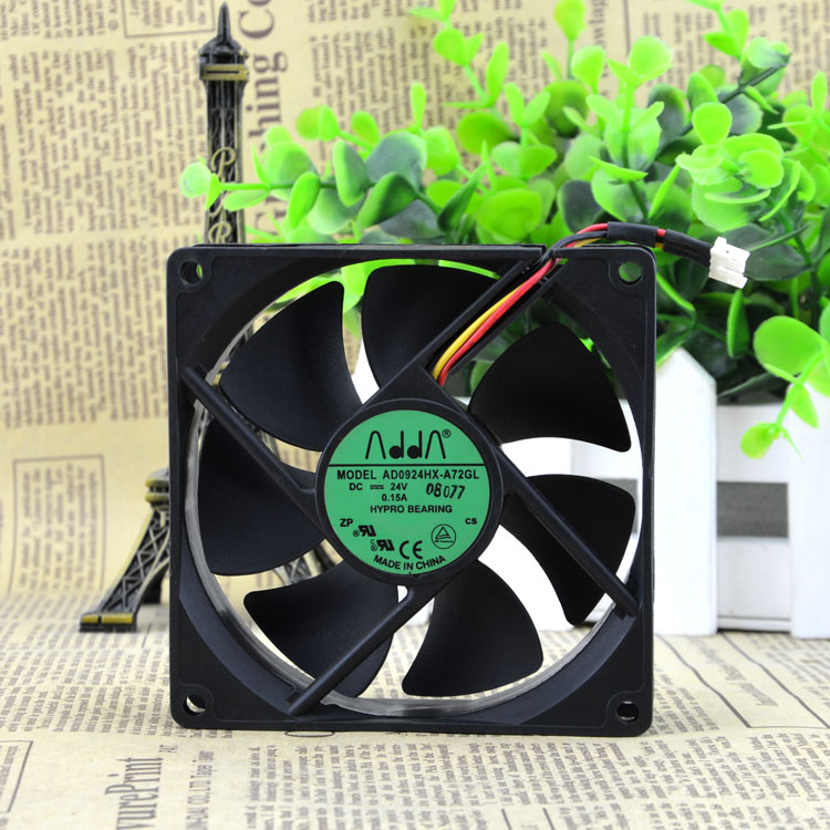 AD0924HX-A72GL 24V 0.15A 9CM 3 line drive cooling fan 90X90X25MM