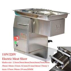 Elektryczna krajalnica do mięsa ze stali nierdzewnej 110 V/220 V/QX do krojenia mięsa machineDesktop typu krajalnica do mięsa maszyna do cięcia mięsa