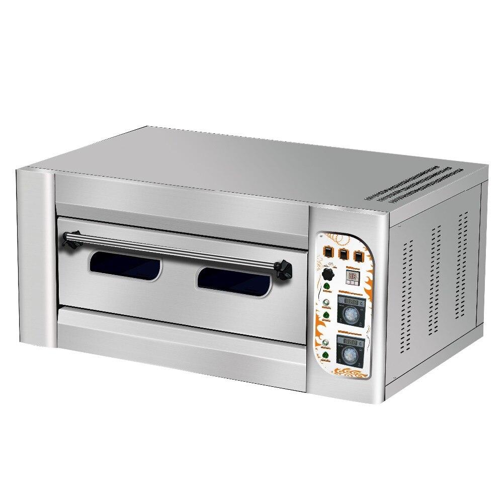 VH 12 50 300degree один 1 Слои 2 Пан два торт печь для выпечки/хлебобулочных машины одной колодой газовая духовка
