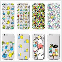 Chubby Cockatiels Parrotlets Hello parrot bird new Fashion Soft Clear Phone Case Cover For iPhone 7 6 6S 8Plus 5S X XS XR XSMax