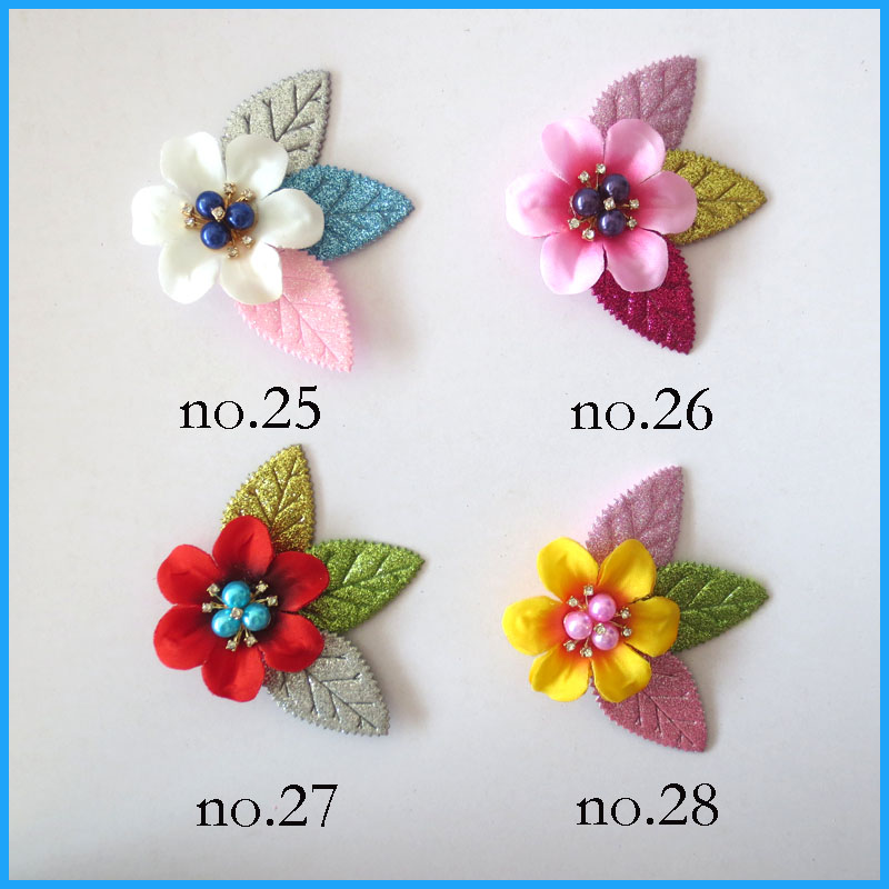 "100 BLESSING Good Latest Vogue Various Style 2.25-2.75/"" A Flower Clip No.210"
