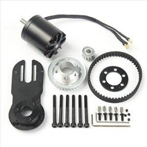 Image 2 - 83mm 90mm 97mm 전기 스케이트 보드 1800W 모터 5M 기어 270mm 벨트 키트 및 모터 마운트 부품 Riserpad
