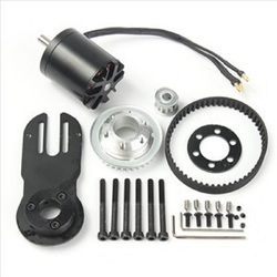 83mm 90mm 97mm Elektrische Skateboard 1800 W Motor 5 M Getriebe 270mm Gürtel Kit Und Motor mount Teile Riserpad