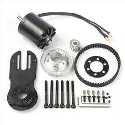 83mm 90mm 97mm skate elétrico 1800 w motor 5 m engrenagem 270mm correias kit e peças de montagem do motor riserpad
