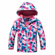 Waterproof Child Coat Windproof Sporty Girls Jackets Warm Children Outerwear Clothing For Kids Outfits 3-12 Years Old