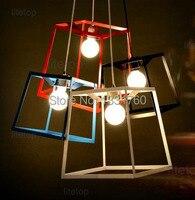 Iacoli & McAllister FRAME Pendant lamp suspension lamp concept pendant metal lighting fixture kitchen dinning room living room